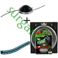 Pack Oregon de cabezal Jet Fit + hilo Flexiblade 3 mms. x 37 mts.