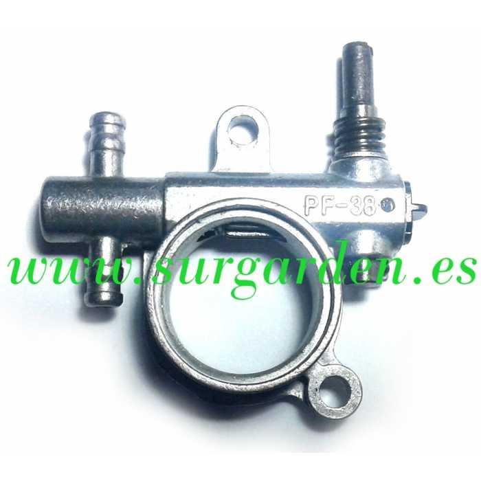 Bomba de aceite motosierra zenoah g250 g2500ts referencia - Aceite cadena motosierra ...