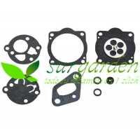 Juego de membranas carburador TK para McCulloch / Kawasaki / Fuji Robin / Shindaiwa