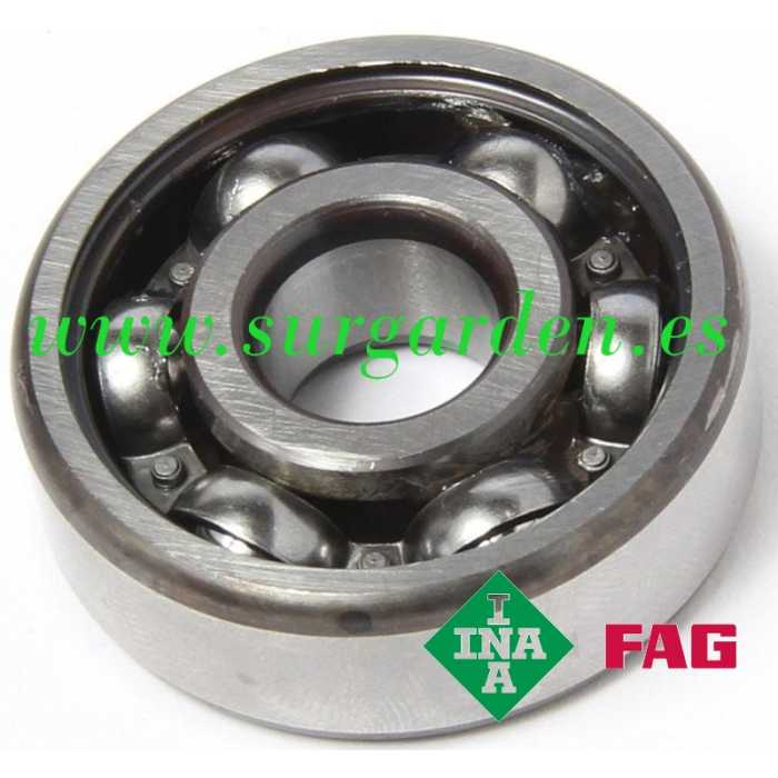 Rodamiento de bolas INA-FAG 6001-C3 medida 8 x 12 x 28 mms. sin blindaje