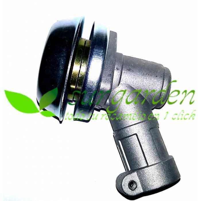 Codo de transmisión 28 mms / 10 estrías para desbrozadoras