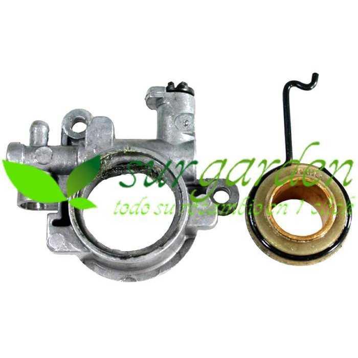 Bomba de aceite motosierra Stihl 029 / 039 / MS290 / MS310 / MS311 / MS391 / MS390 referencia 1127 640 3204 engrase de cadena