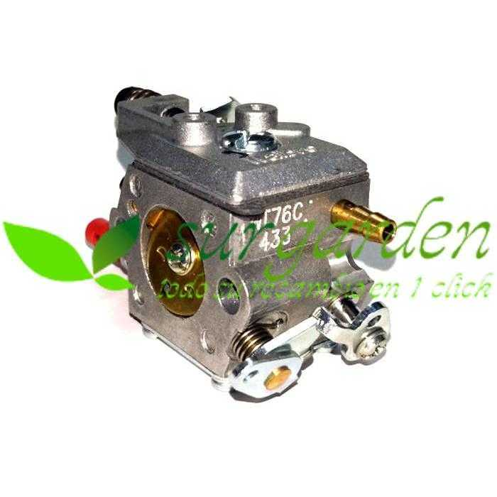 Carburador para motosierra Tryun 4516 con referencia original 78SMASH18V1-12C