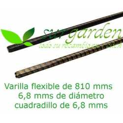 Eje - varilla flexible 810 mms de longitud / Ø 8 mms desbrozadora Shindaiwa