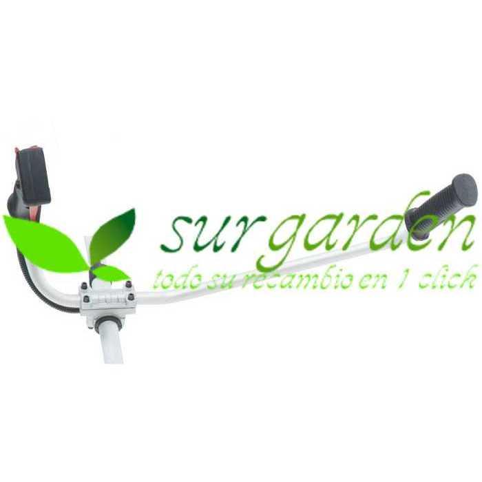 Manillar completo universal para desbrozadora de 26 mms de tubo
