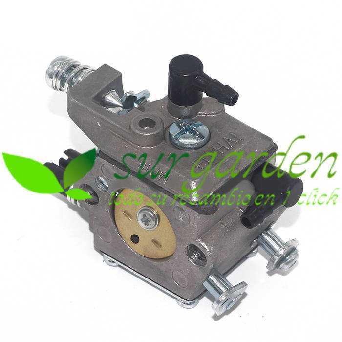 Carburador motosierra china 51 c.c. / 54 c.c.