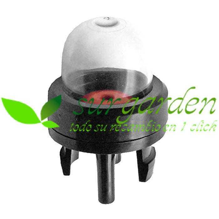 Cebador de gasolina completo para carburadores Walbro series WT / WY / WYJ ref. 188-512 McCulloch / Ryobi