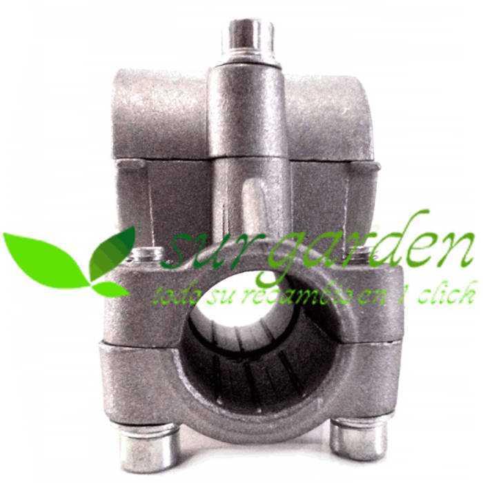 Soporte universal de manillar para desbrozadora de tubo de transmisión de 26 mms y manillar de 19 mms