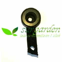 Amortiguador silentblock inferior para motosierra de 38 c.c. / 41 c.c.