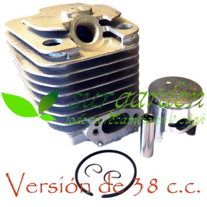 Kit de cilindro completo para motosierra de 38 c.c.