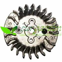 Volante magnético con trinquetes metálicos para motosierra asiática de 45 c.c. / 51 c.c. / 54 c.c.