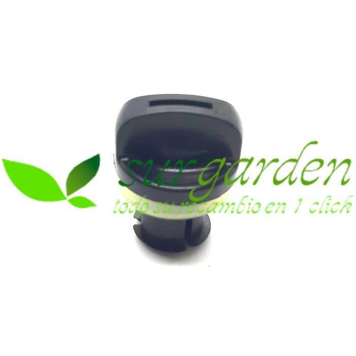 Tuerca - palomilla de cierre de filtro de aire para motosierra de 38 c.c. / 41 c.c.
