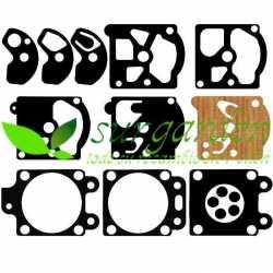 Kit de membranas de carburador para motosierra de poda asiática 25 c.c. / 25,4 c.c.