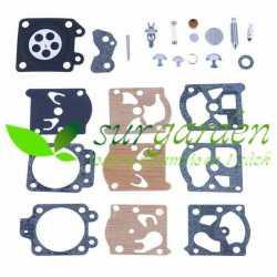 Kit de reparación de carburador para motosierra de poda asiática 25 c.c. / 25,4 c.c.