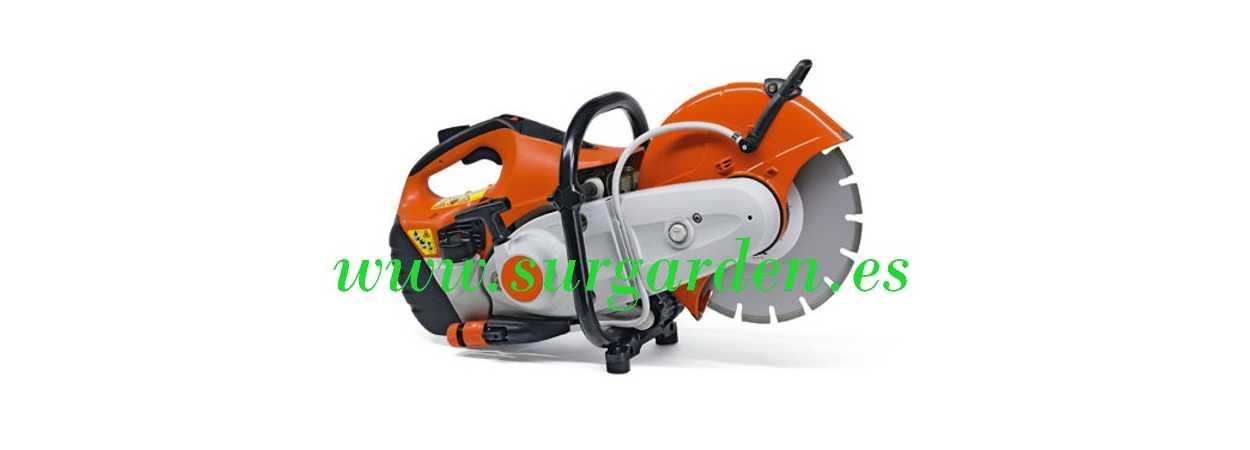 TS410 Stihl cortadora recambios