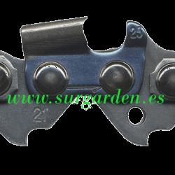 Listado de medidas de cadenas, barras y piñones de cadena por modelo de motosierra