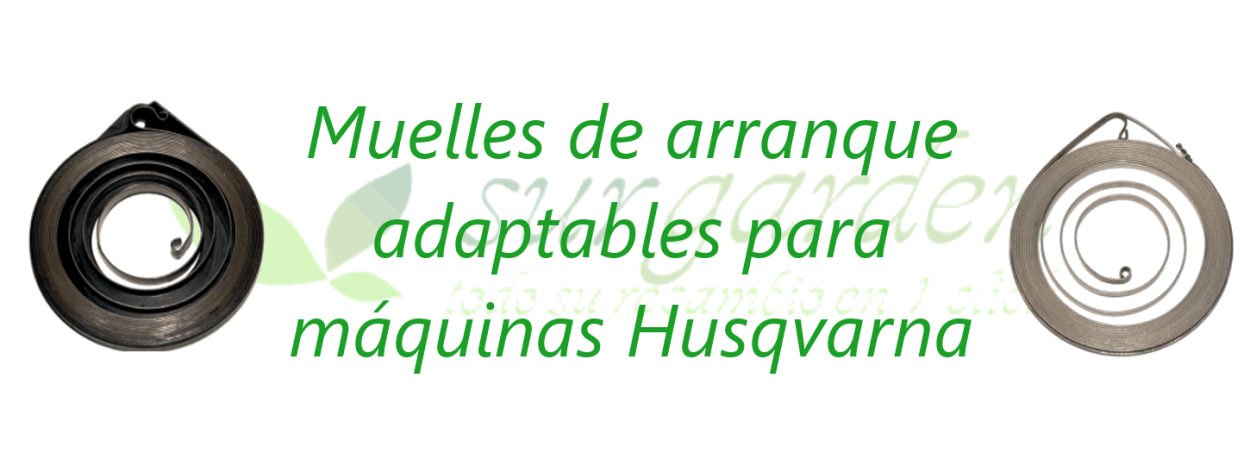 Husqvarna / Partner / McCulloch muelles de arranque adaptables