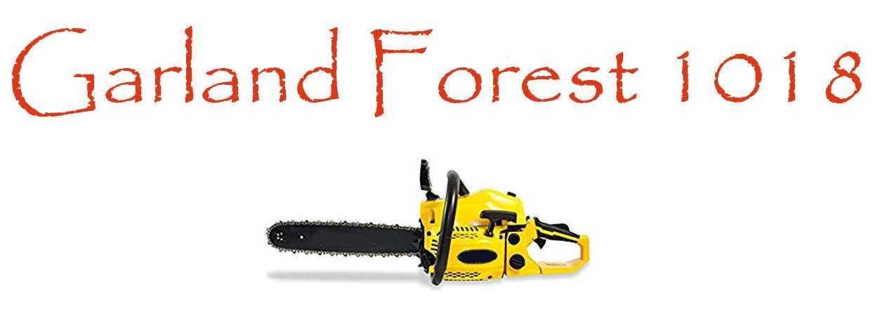 Motosierra Garland Forest 1018