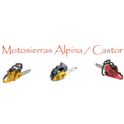 Motosierras Alpina / Castor / Stiga / GGP