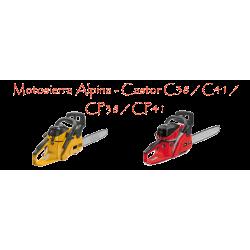 Motosierra Alpina / Castor C38 - CP38 - C41 - CP41