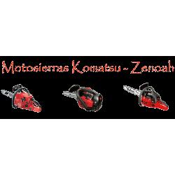 Motosierras Komatsu - Zenoah