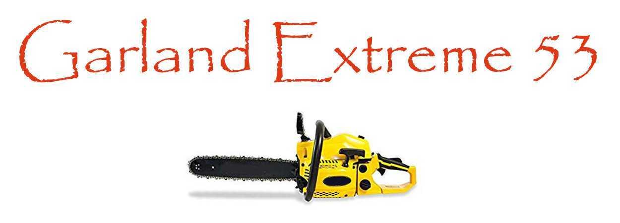 Motosierra Garland Extreme 53