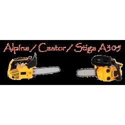 Motosierra Alpina / Castor A305