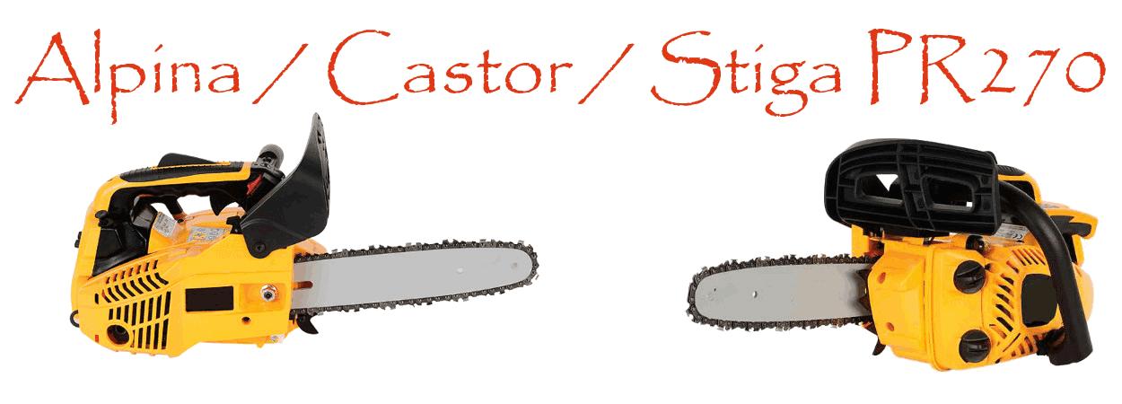 Motosierra Alpina / Castor PR270