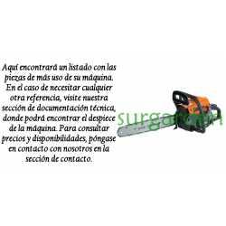 Motosierra Voltor 36 / 42 / 46