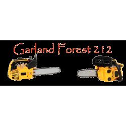 Motosierra Garland Forest 212